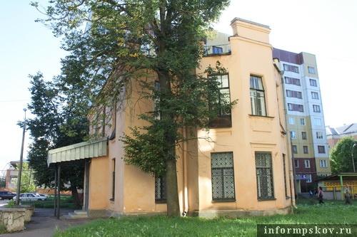 На фото: современный вид дома Щербицкого
