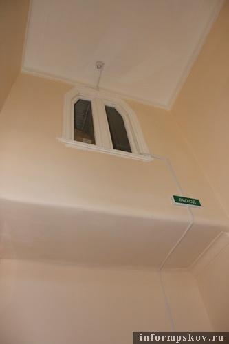 На фото: внутренний интерьер дома Щербицкого