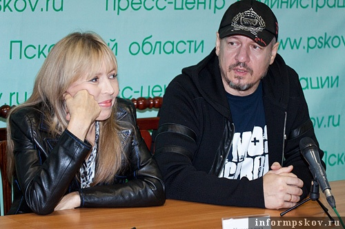 На фото: Ольга Кормухина и Алексей Белов