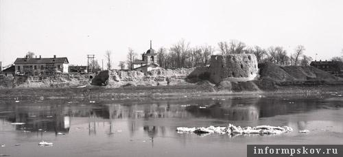 Откопанная в шестидесятых годах прошлого века Покровка выглядела так. Фото М.И. Семёнова.