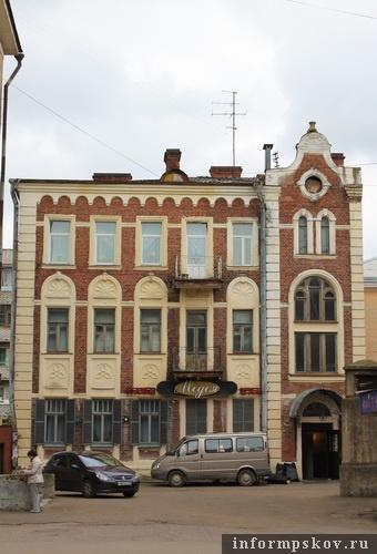На фото: современный вид доходного дома Бернарда Кербера