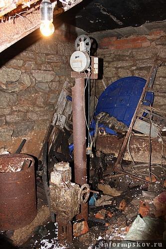 На фото: так теперь выглядит часть подвала в доме Кербера
