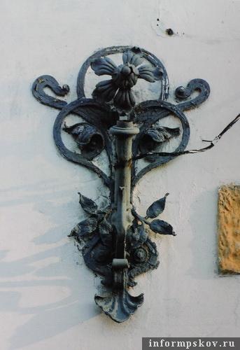 На фото: кованый флагшток (Фото из архива НПЦ)