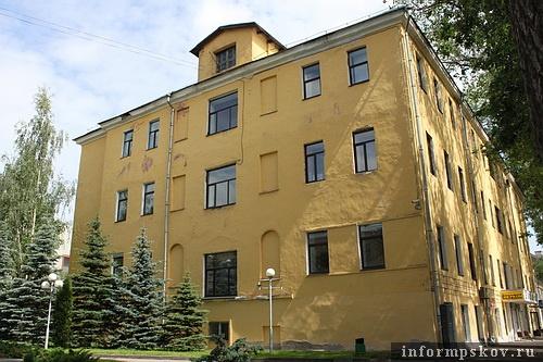 На фото: современный вид Псковского централа