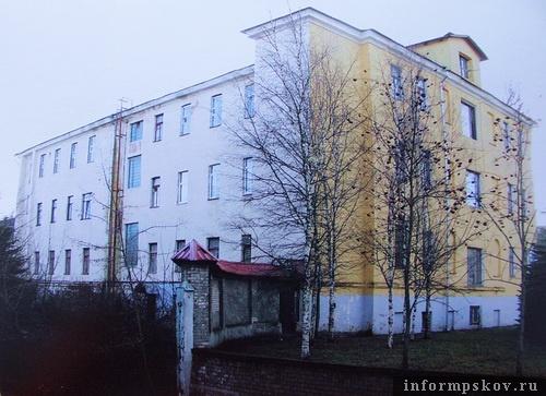На фото: дворовый фасад арестантских рот (Фото из архива НПЦ)