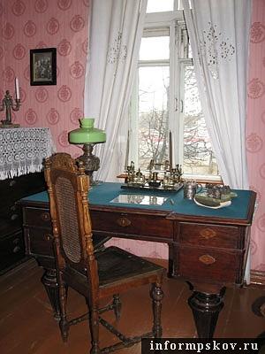 На фото: комната Ленина