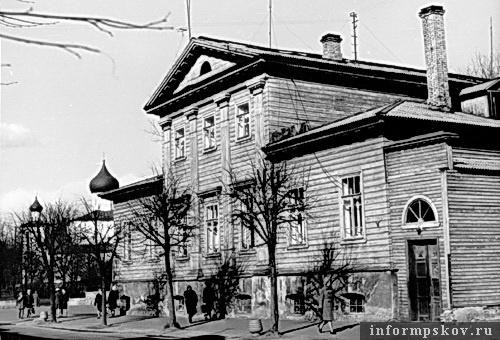 На фото: дом Перовских. 1974 год (Фото из архива НПЦ)