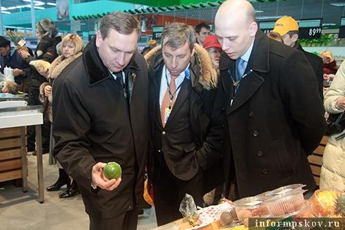 На фото: (слева направо) Иван Цецерский, Павел Сергеев и Максим Анненков
