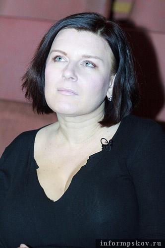 На фото: Анна Потапова