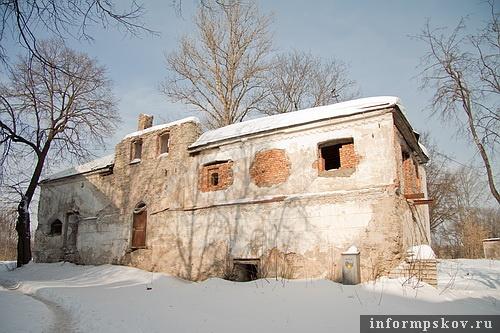 На фото: Некрасова, 10а. «Дворец Марины Мнишек»