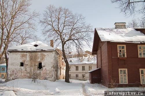 На фото: домовладение на Губернаторской