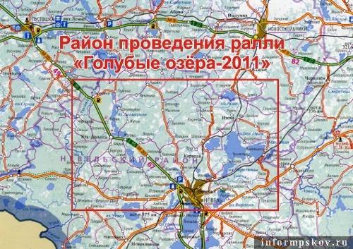 На фото: карта