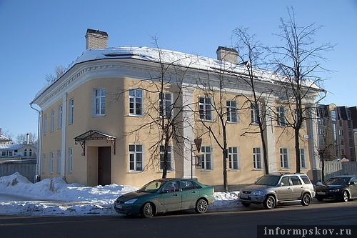 На фото: дом купца Калашникова