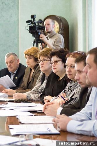 На фото: участники заседания