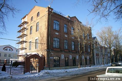 На фото: Некрасова, 44. Дом Генриха Герца