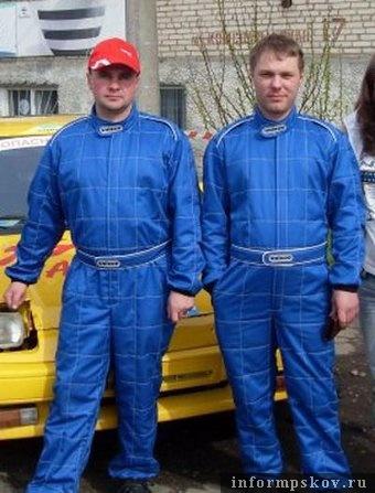 На фото: (слева направо) Олег Стебнюк и Сергей Ильин