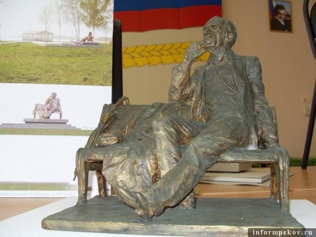 На фото: проект памятника группы художников под руководством Вячеслава Коваленко