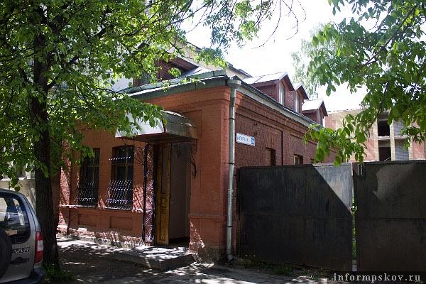 На фото: дом Луцаенко (ул. Гоголя, 26 а)