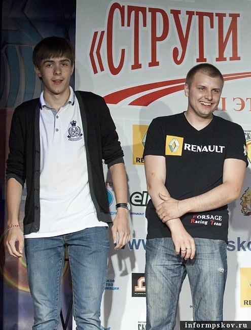 На фото: (слеава направо) Егор Соболев и Денис Гаврилов