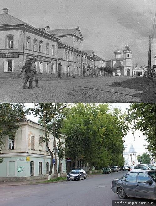 На фото: дом Отто Граудума в XX и XXI веке