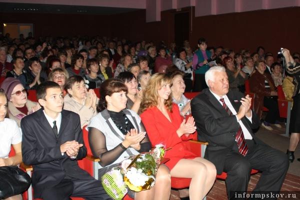 На фото: участники торжественного собрания