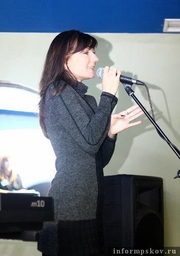 На фото: участница конкурса