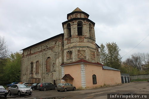 На фото: Церковь Одигитрии