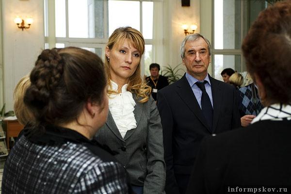 На фото: Светлана Журова и Александр Голышев