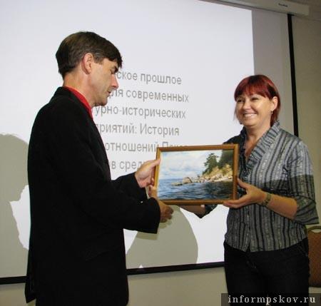 Антс Йохансон и Ольга Василенко в Ганзейской школе «Чудского проекта»
