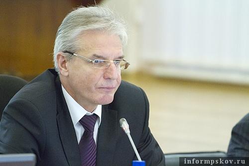 На фото: председатель ПОС Александр Котов