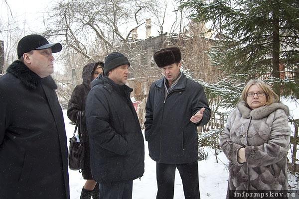 На фото: Виктор Лукин, Сергей Сирый, Николай Баринов и Людмила Душевская