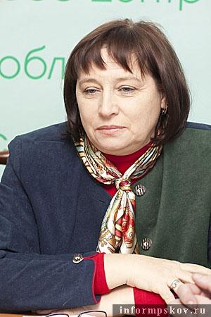 На фото: Татьяна Ершова