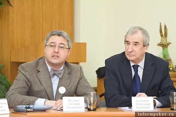 На фото: Дмитрий Месхиев и Александр Голышев