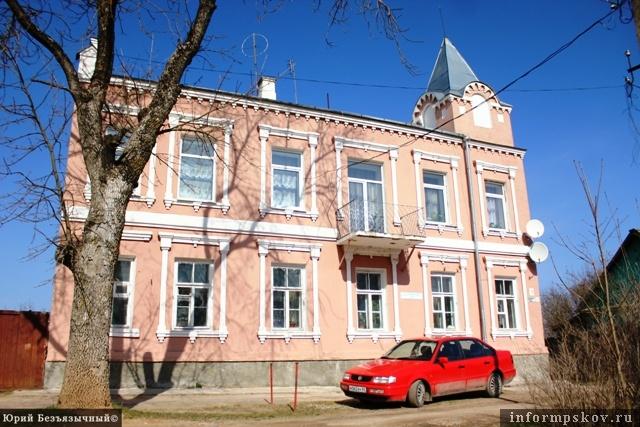 На фото: Дом В. В. Муйжеля