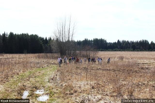 На фото: печорское поле