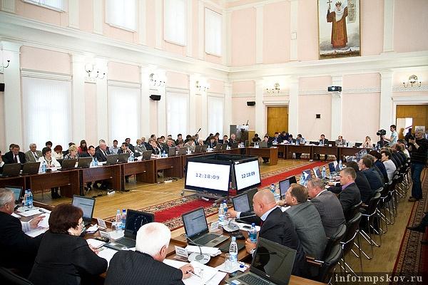 На фото: сессия ПОС