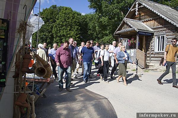 На фото: рабочая поездка Андрея Турчака в Старый Изборск