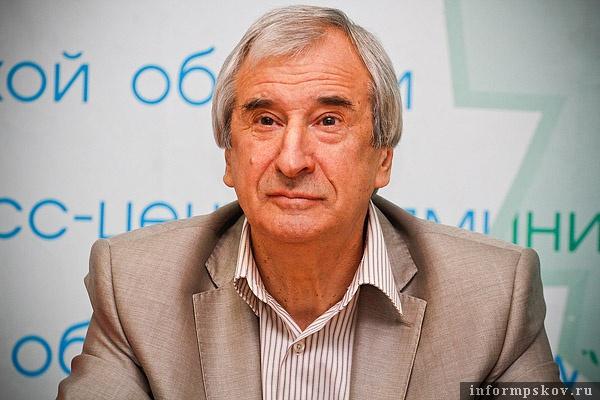 Александр Голышев, председатель Государственного комитета Псковской области по культуре
