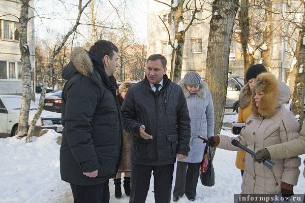 На фото: Юрий Воробьёв и Иван Цецерский