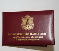 """Молодежный парламент выдвинул в номинацию """"Инициатива"""" свой первый законопроект"""
