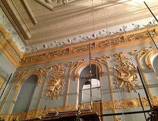 Областной чиновник показал в Facebook, как выглядит псковский театр на финише реконструкции