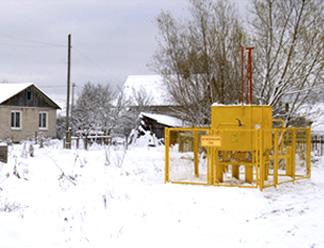 Жилые дома в Новосокольниках подключили к газу