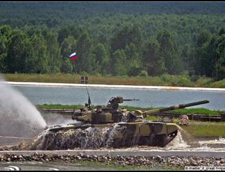 В Псковской дивизии проходят учения с форсированием реки и десантированием