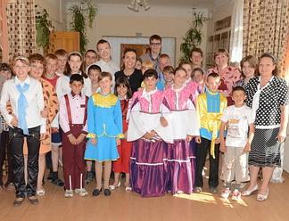 Австрийцы помогли Опочецкому интернату с покупкой швейного оборудования