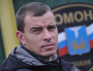 """Боец ОМОНа Юрий Киппар набирает наибольшее количество голосов в номинации """"Защита"""""""